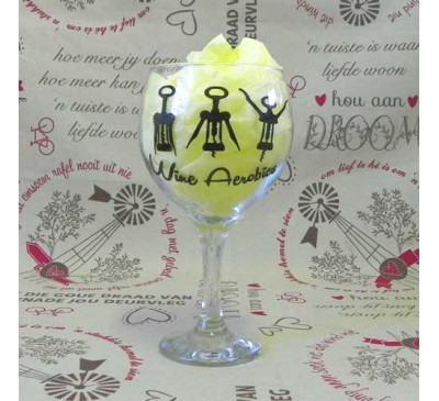 Wine Glass - Wine Aerobics