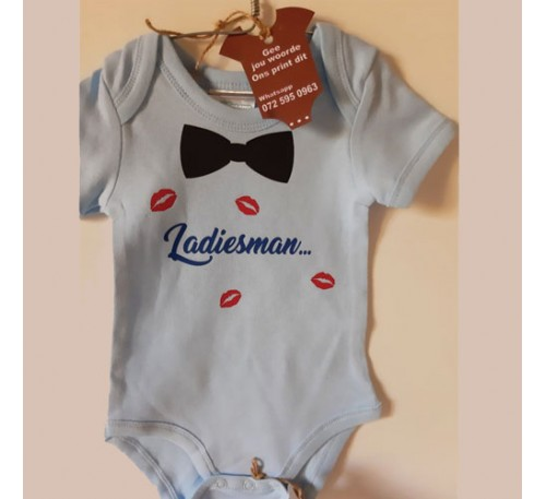 Baby Grow -Ladies Man