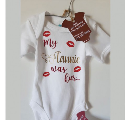 Baby Grow - My Tannie was Hier #2