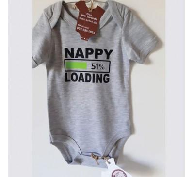 Baby Grow - Nappy Loading