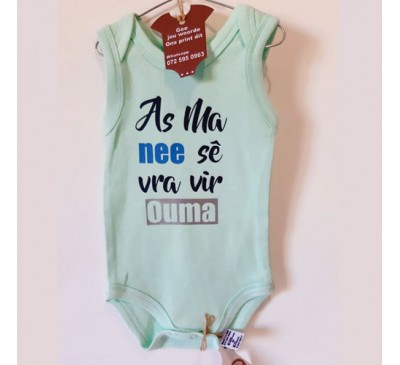 Baby Grow - As Ma Nee Sê