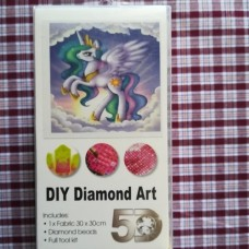 Diamond Dot - 30cm x 30cm - Pony Purple