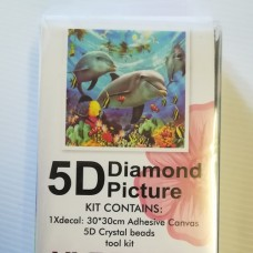 Diamond Dot - 30cm x 30cm - Dolphyn