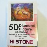 Diamond Dot - 40cm x 30cm - Unicorns