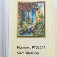Diamond Dot - 30cm x 40cm - Floral Window