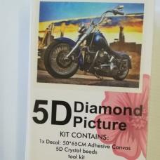 Diamond Dot - 65cm x 50cm - Motorbike #2