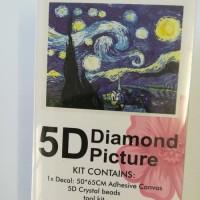 Diamond Dot - 65cm x 50cm - Starry Night