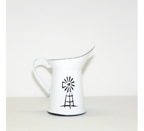 Enamel Ware - White - Small Milk Jug