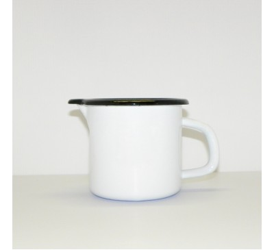 Enamel Ware - White - Large Milk Jug