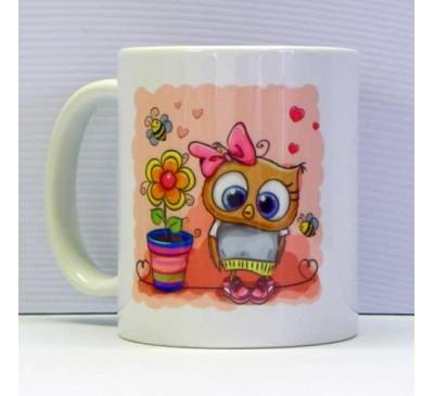 Printed Coffee Mug - Blomme Plant