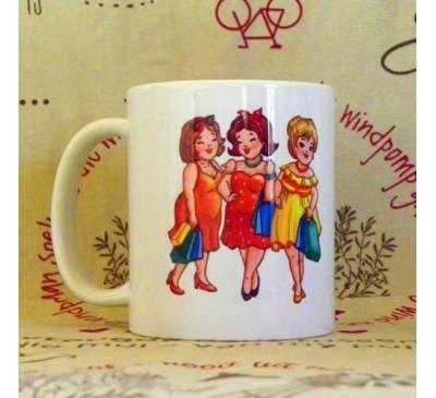 Printed Coffee Mug - Vriende