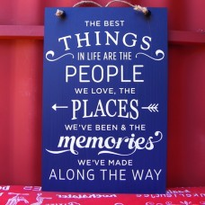 Wooden Sign - Best Things