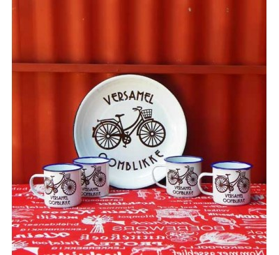 Enamel Ware - Bicycle