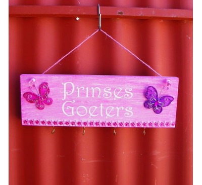 Wooden Sign - Prinses Goeters Pink